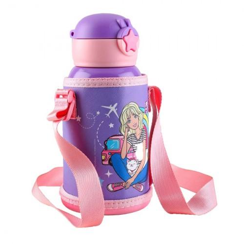 My Baby Excels Barbie Steel Inner Water Bottle 520 ml