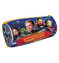 My Baby Excels Marvel Avengers Blue Round Pouch