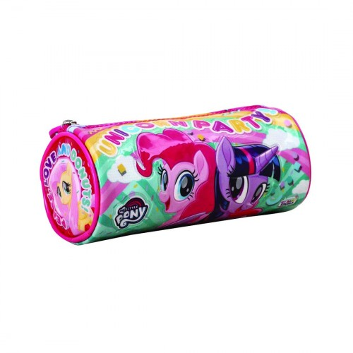 My Baby Excels My Little Pony Pink Round Pouch