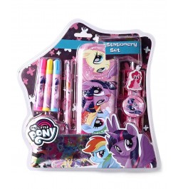 Buy My Baby Excels My Little Pony Stationery Set/Kit of 8 Online in India