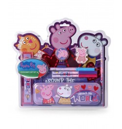 My Baby Excels Peppa Pig & Friends Stationery Set/Kit of 8