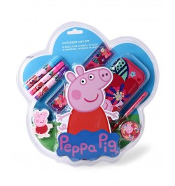 Buy My Baby Excels Peppa Pig Stationery Set/Kit of 8 Online in India