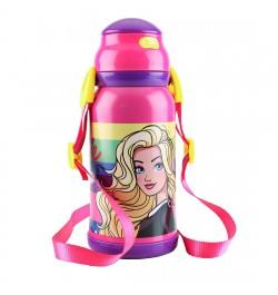 Buy My Baby Excels Barbie Stars Steel Inner Water Bottle 460 ml Online in India
