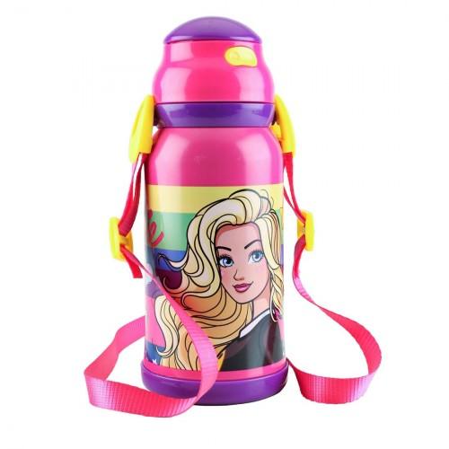 My Baby Excels Barbie Stars Steel Inner Water Bottle 460 ml