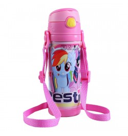 Buy My Baby Excels My Little Pony Steel Inner Water Bottle 350 ml Online in India
