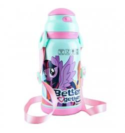 Buy My Baby Excels My Little Pony Steel Inner Water Bottle 460 ml Online in India