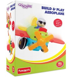 Buy Giggles Build & Play Aeroplane (Multicolor) Online in India