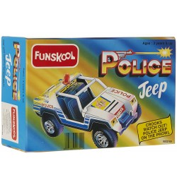 Giggles Police Jeep (toy cars for 1 year old)