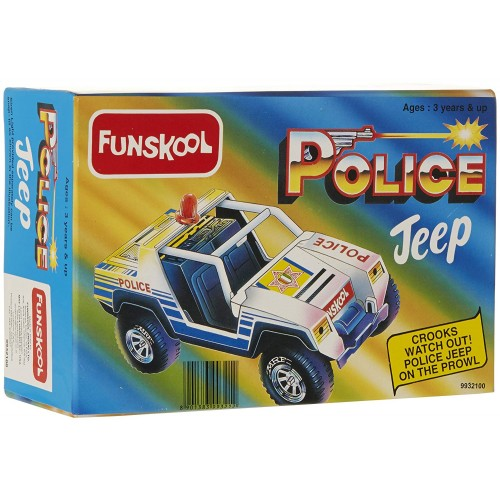 Giggles Police Jeep