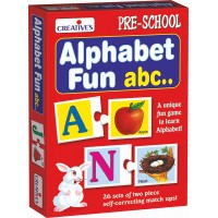Creative's Alphabet Fun Abc Puzzle (Multi-Color, 52 Pieces)