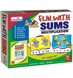 Buy Creative's Fun with Sums Multiplication Online in India