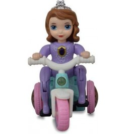 Beautiful Tricycle for Girls with 360 Degrees Rotating Stunt and Music