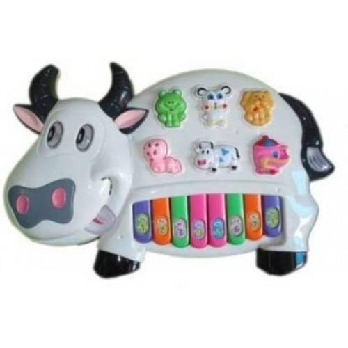 Cow Educational Interactive Piano - Colors May Vary