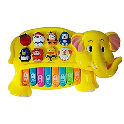 Elephant Animal Piano with Real Animal Sound