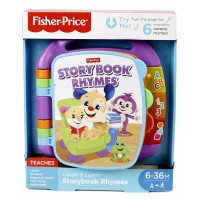Fisher Price Storybook Rhymes Musical Toy (Color May Vary)