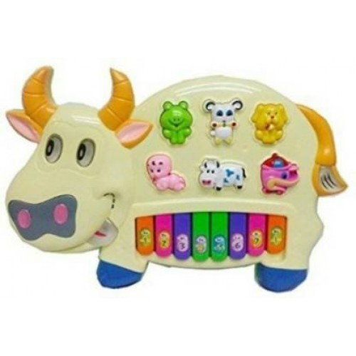 Musical Cow Piano - Colors May Vary