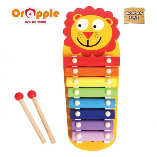 Orapple by R For Rabbit - Tin Tin Xylophone (Lion)