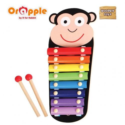 Orapple by R For Rabbit - Tin Tin Xylophone (Monkey)