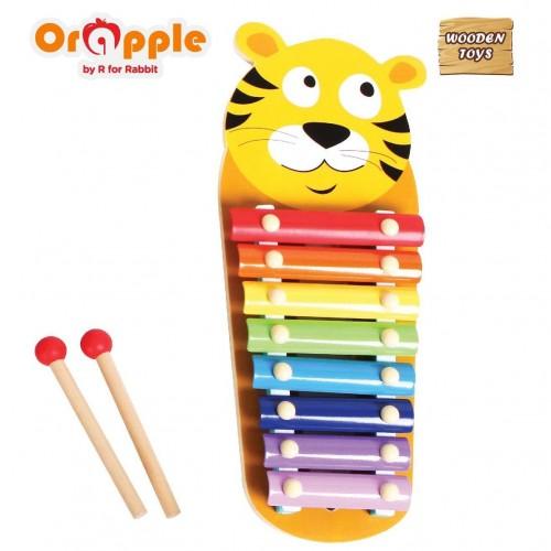 Orapple by R For Rabbit - Tin Tin Xylophone ( Tiger)