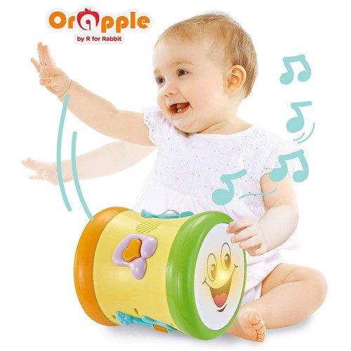 Orapple Toys by R for Rabbit - Musical Learning Drum