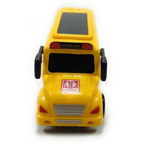 School Bus Toy with Light and Music