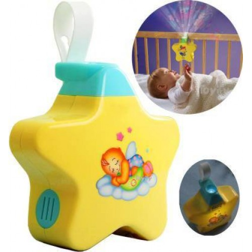 Stars Projector with Light and Music for Newborn