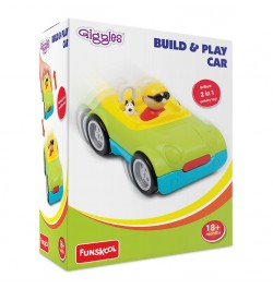 Giggles Build & Play 2 In 1 Activity Toy Car