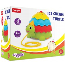 Giggles Ice Cream Turtle Multicolor