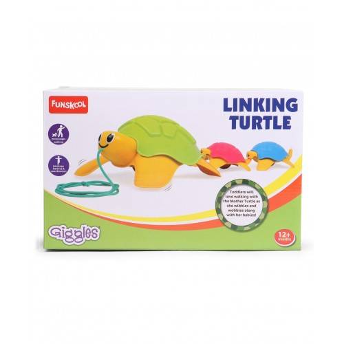 Giggles Linking Turtle - Multicolor