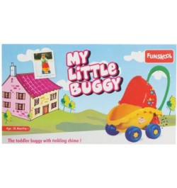 Giggles My Little Buggy - Yellow Red