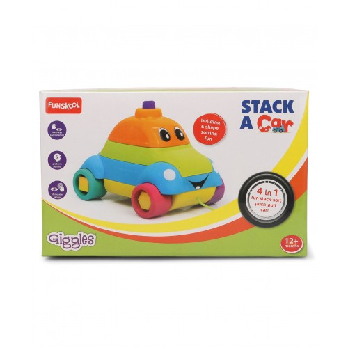 Giggles Stack A Car (Color May Vary)