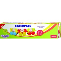 Giggles Stackin & Linkin Pull Along Caterpals Toy - Multicolour