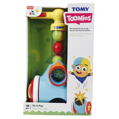 Tomy Pic 'n' Pop Toy - Blue Yellow