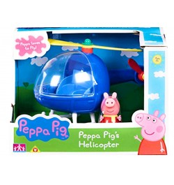 Planet Superheroes Peppa Pig's Helicopter Playset