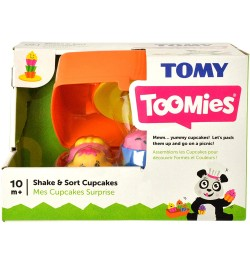 Tomy Shake and Sort Cupcakes Toy (Orange)
